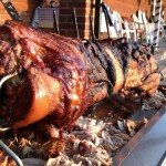 Spit Roasted Pig - Summer 2014
