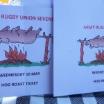 Hog Roast At The Rugby Union Stadium