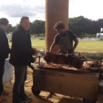 Hog Roast Serving