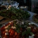 Freshly Made Tomato, Mozarella and Basil Salad