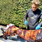 Spit Roasted Hog