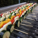 BBQ Menu - Vegetarian Skewers