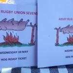 Hog Roast At The Rugby Union Stadium