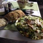 Wedding Menu Salads - Chipping